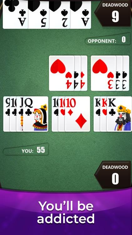 Gin Rummy * The Best Card Game screenshot-3
