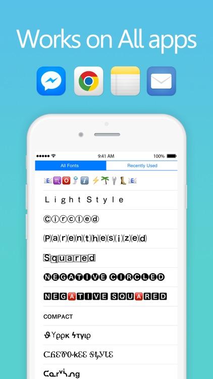 Fancy Text - Keyboard Fonts