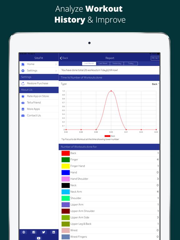 SitoFit - Office Workout screenshot 7