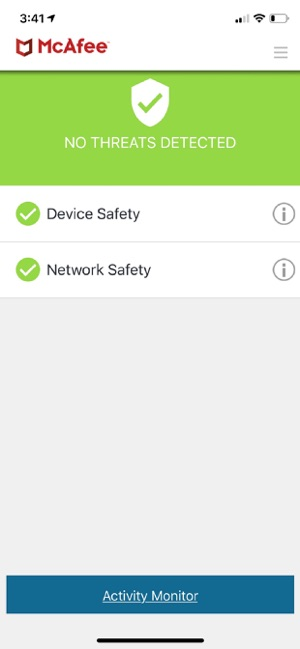 McAfee MVISION Mobile on the App Store