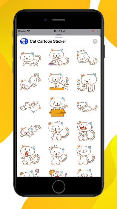 Cat Emoji Sticker screenshot 1