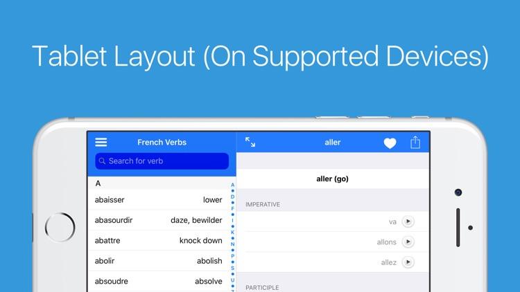 French Verb Conjugator Pro screenshot-6