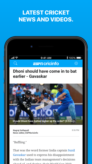 Cricinfo - Live Cricket Scores - Revenue & Download estimates