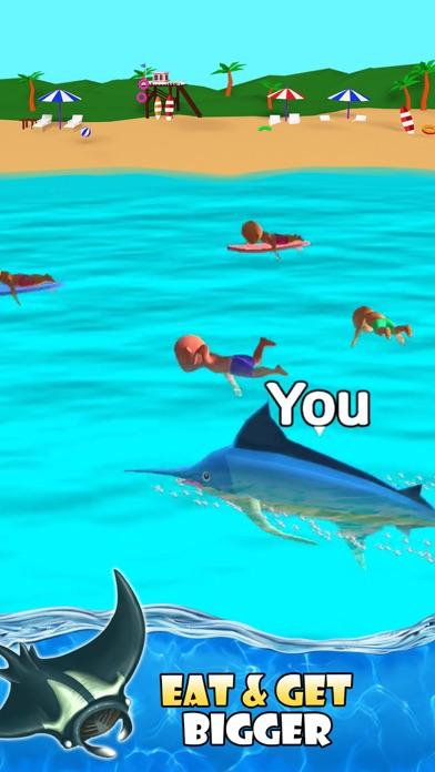 Shark Attack -Simulator games screenshot 3