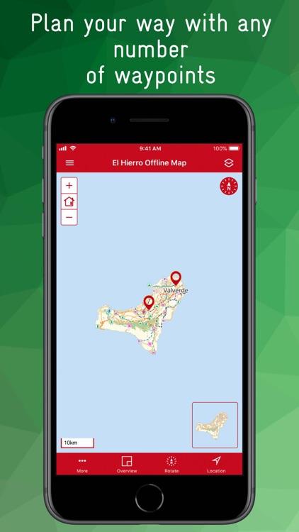 El Hierro Offline Map screenshot-9