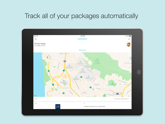 Slice - Automatic Package Tracker screenshot