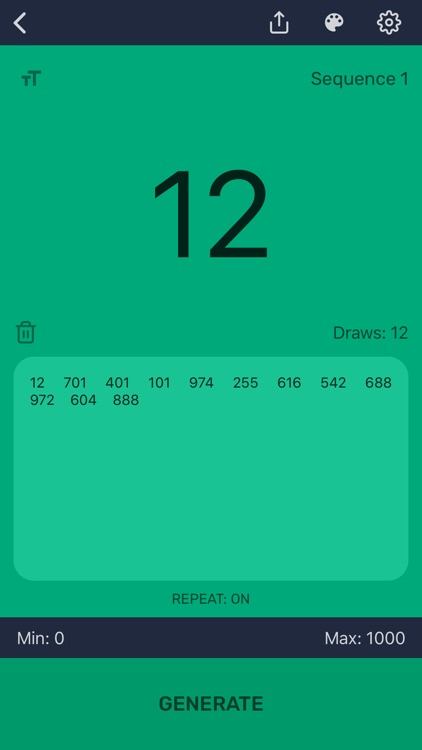 Random Number Generator - Pro screenshot-7