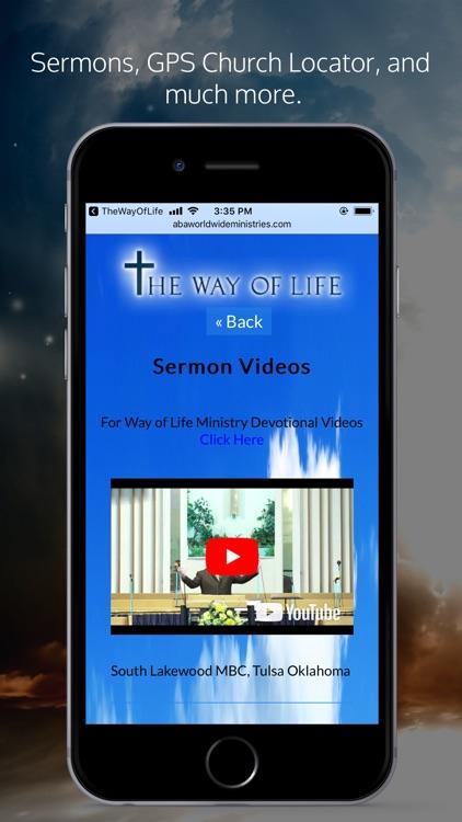 The Way Of Life Ministries APP screenshot-4