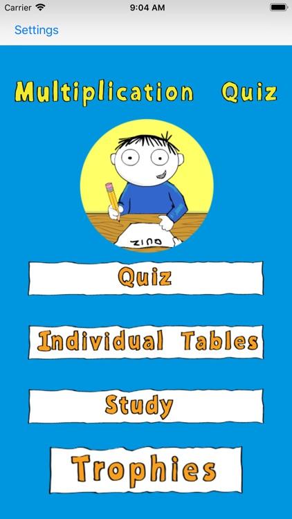 Multiplication-Quiz