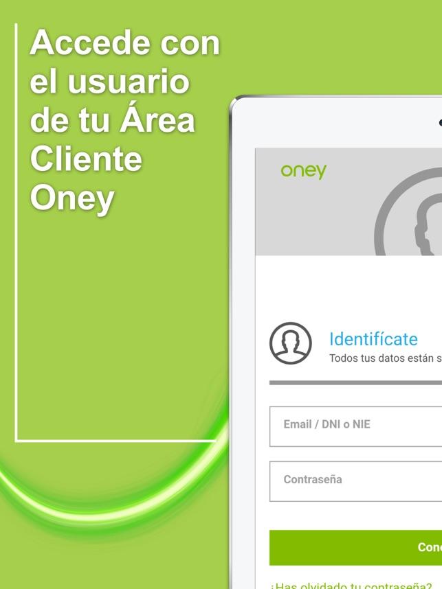 Oney Espana En App Store