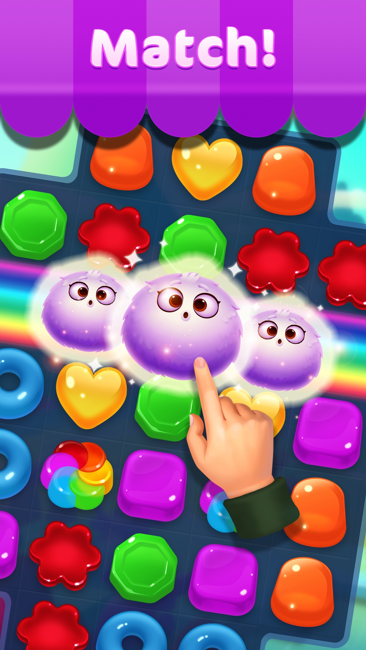 Jellipop Match Screenshot