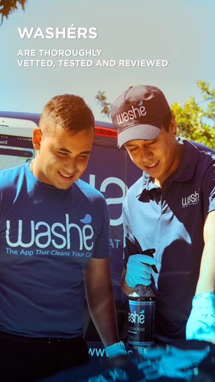 Washe - Car Washes Delivered screenshot-4