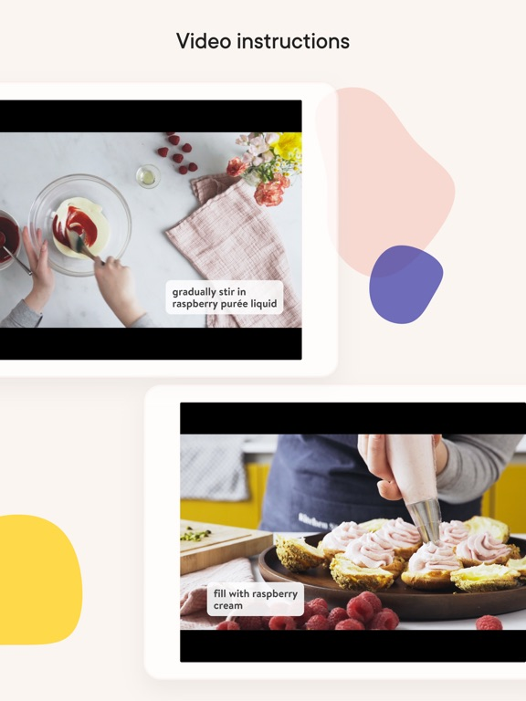 Kitchen Stories: tasty recipes iPad app afbeelding 3