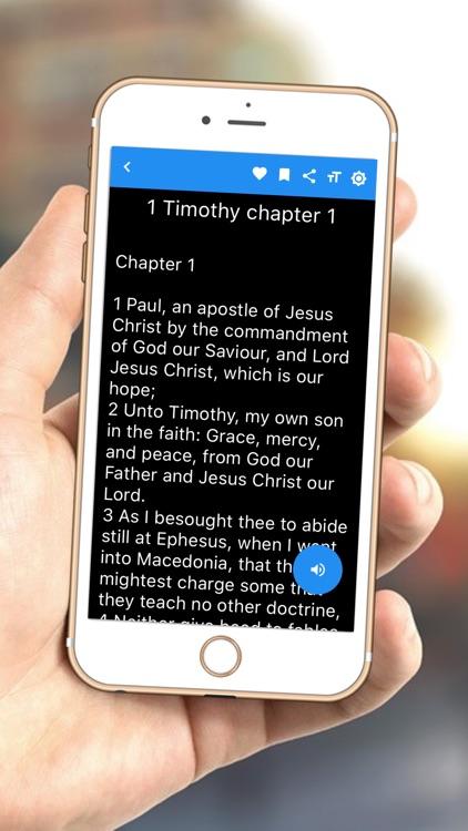 KJV Bible Read offline sound screenshot-6