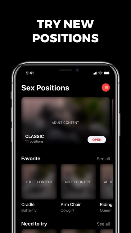 Sex Keeper: tracker, positions
