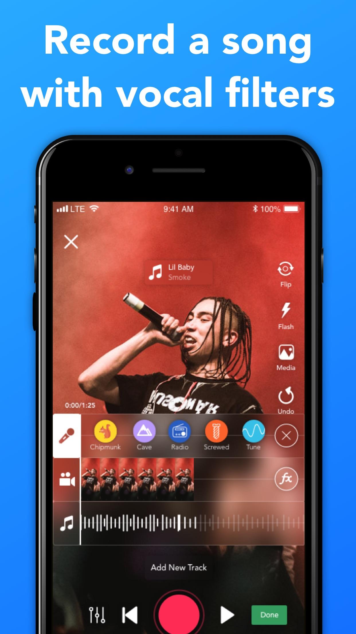 Rapchat: Rap Maker & Studio Screenshot