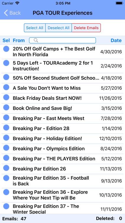 Delete Emails screenshot-7