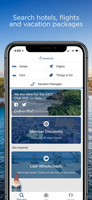 Travelocity Hotels & Flights on the App Store