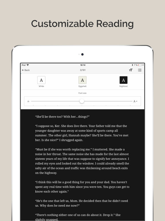 iPad Image of Inkitt: Books, Novels, Stories