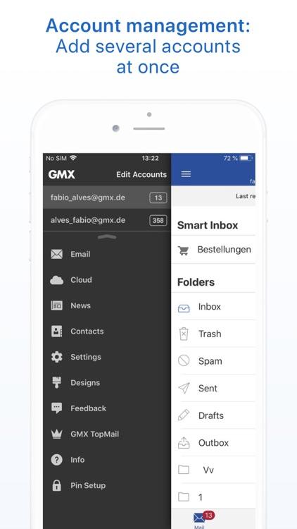 GMX - Mail & Cloud screenshot-3
