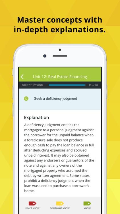 Real Estate Exam Prep & Review screenshot-3