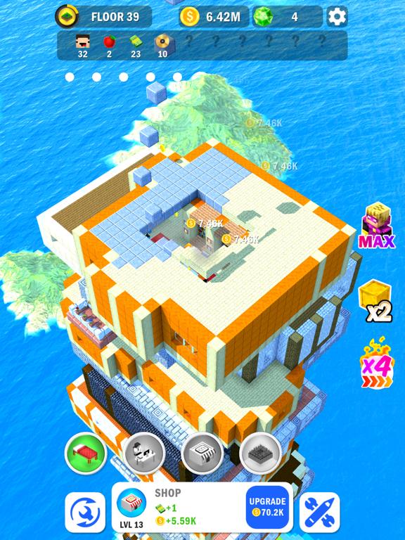 Tower Craft 3D - Idle Building screenshot 7