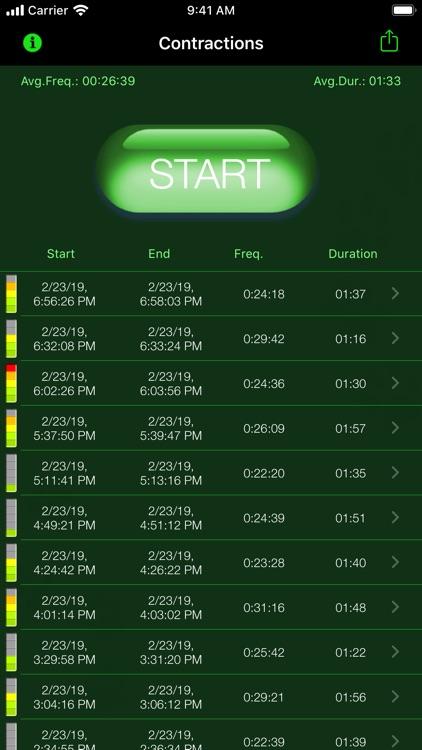 My Contraction Tracker screenshot-5