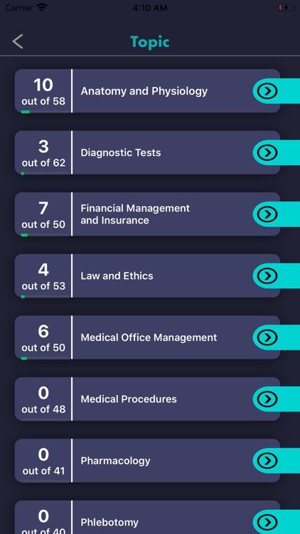 MEDICAL ASSISTANT Exam Prep screenshot-4