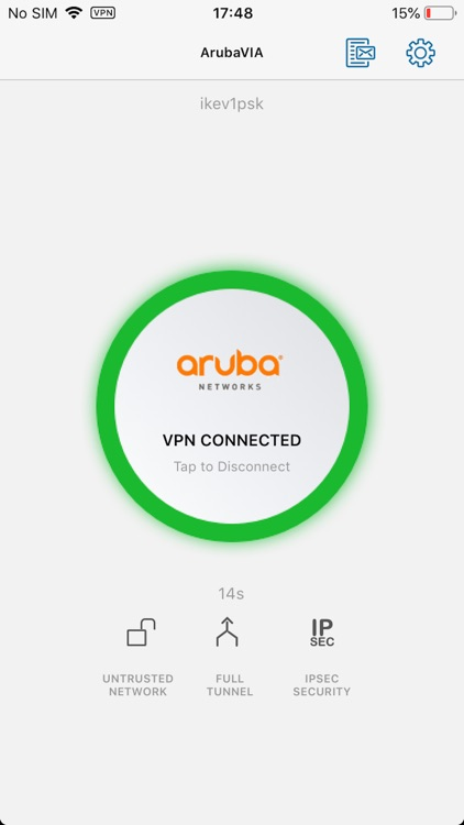 Aruba Virtual Intranet Access