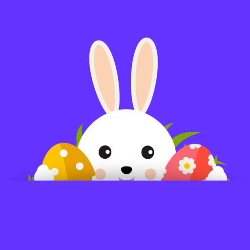 Happy Easter Countdown Sticker