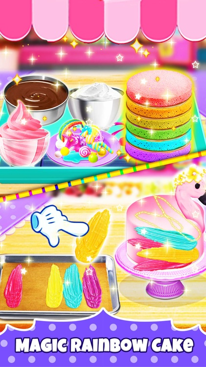 Unicorn Chef: Baking Games screenshot-0