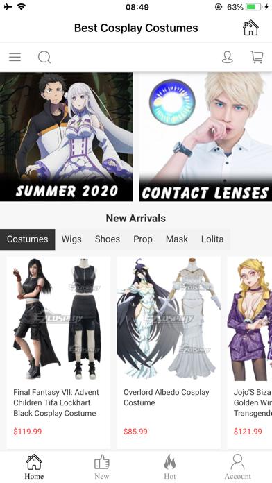 EZCosplay Costumes screenshot 2