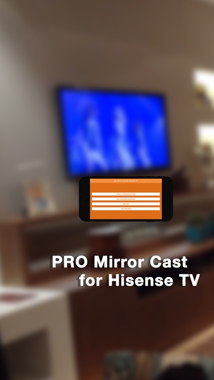 Pro Mirror Cast for Hisense TV by Digital Star Tech Inc