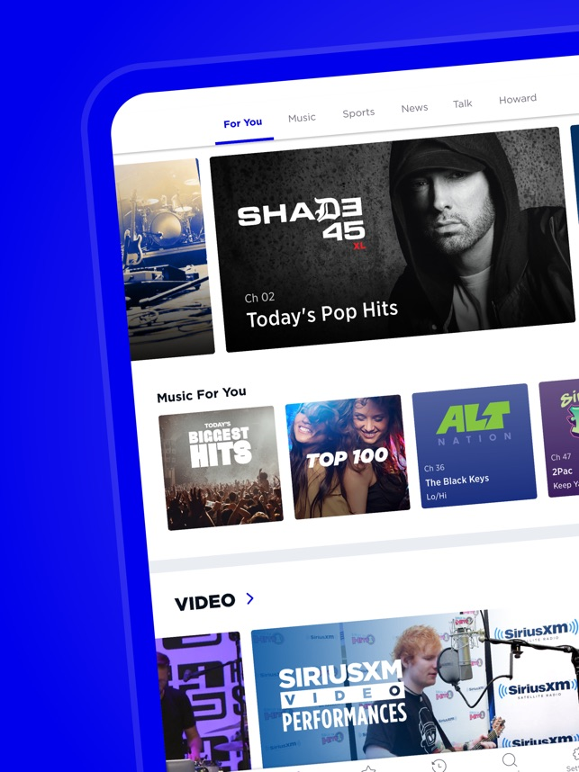 SiriusXM-Music, Comedy, Sports on the App Store