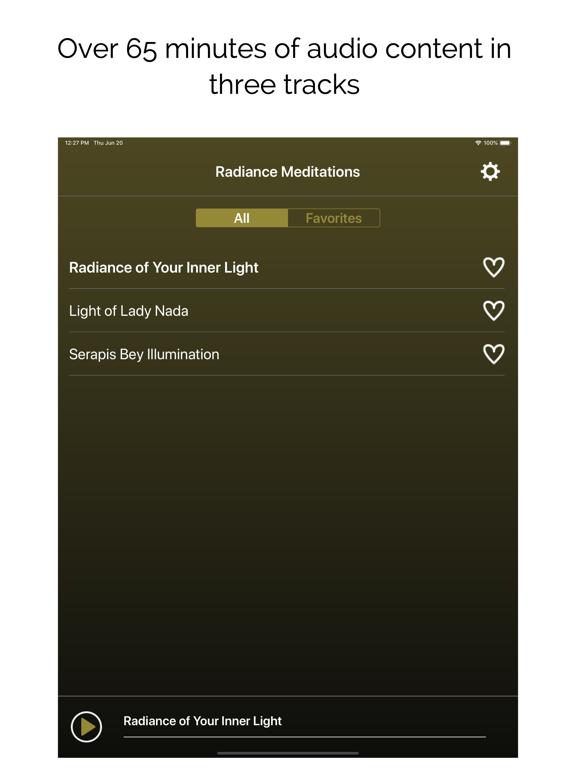 Radiance Meditations screenshot 7