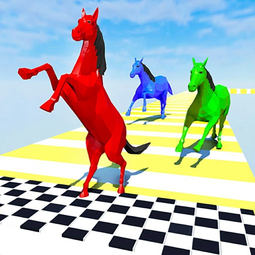 Horse Fun Race 3d