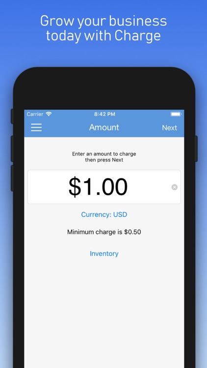 Charge - Stripe Card Payments screenshot-4