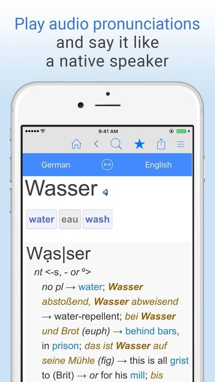 English-German Dictionary. screenshot-4