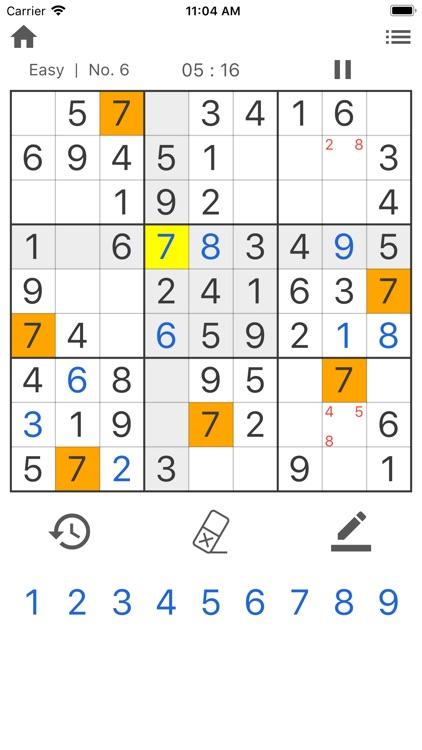 Daily Sudoku - Brain Training