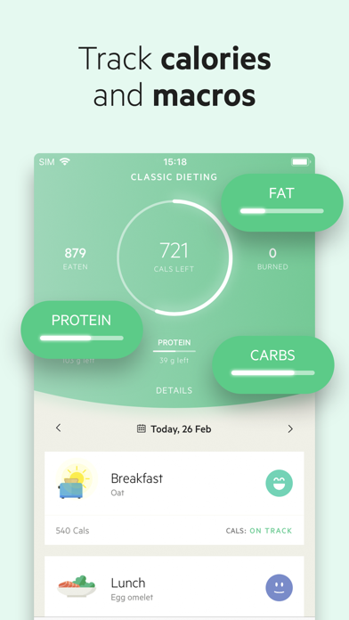 Lifesum review screenshots