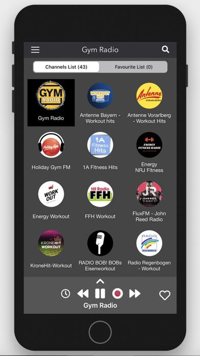 Gym Radio - Workout Music App screenshot two