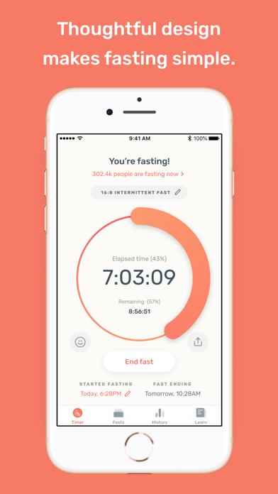 Zero - Fasting Trackerのおすすめ画像1