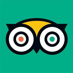 Ícone do app TripAdvisor: hotéis, voos