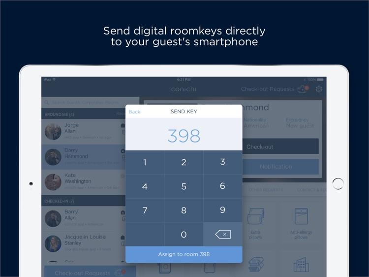 conichi Hotelier App screenshot-3