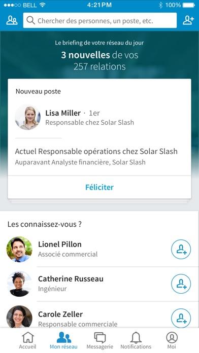 Screenshot for LinkedIn in Lebanon App Store
