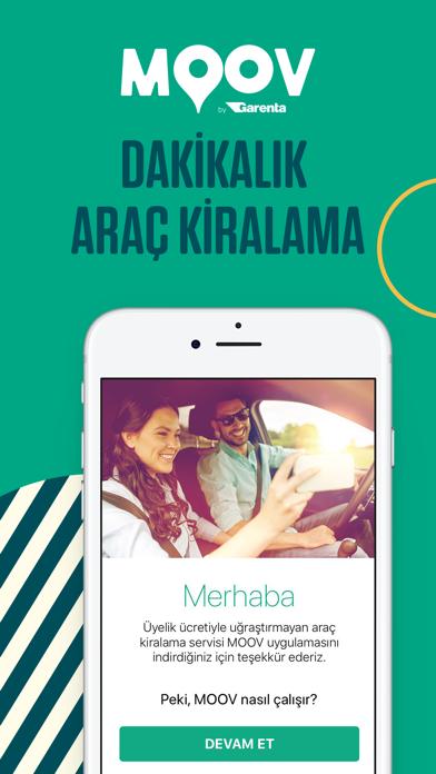 Screenshot for MOOV by Garenta in Turkey App Store