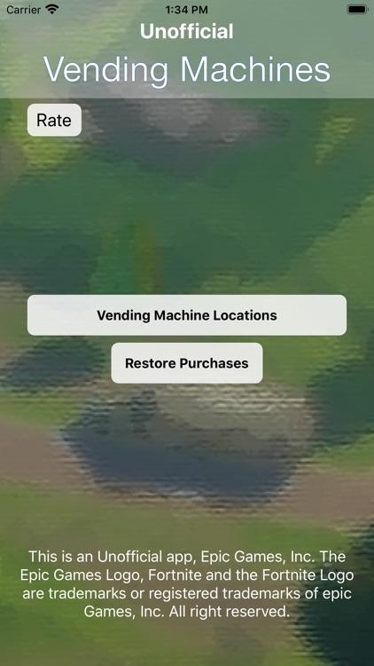 Vending Machines For Fortnite