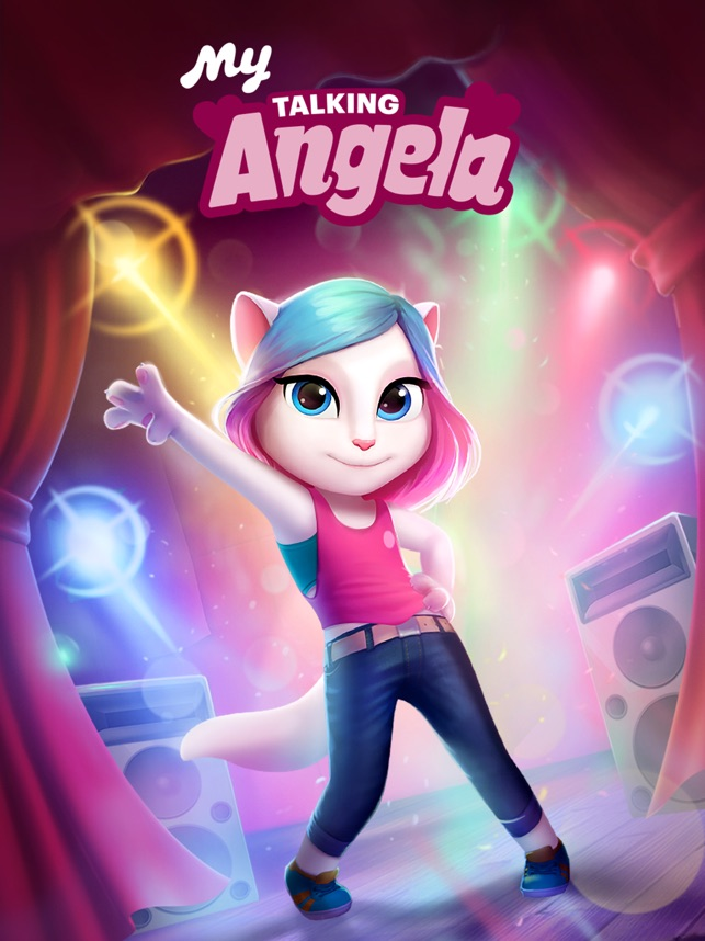 my talking angela free download play store