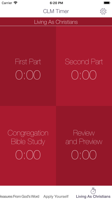 CLM Timer – Meeting Stopwatch by Evan Stone (iOS, United