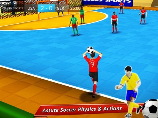 Indoor Soccer 19: Futsal Cup-ipad-2